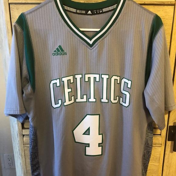 more photos cd1d4 0d055 Isaiah Thomas #4 City Edition Boston Celtics
